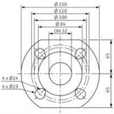 Насос циркуляционный Wilo Top-RL30/7,5 EM PN6/10