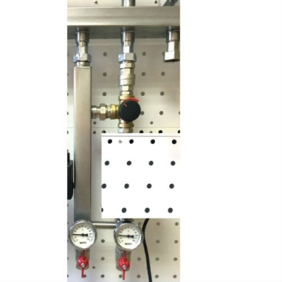 Насосная группа Gidruss NGSS-20 C G 3/4'' без насоса с трехходовым клапаном