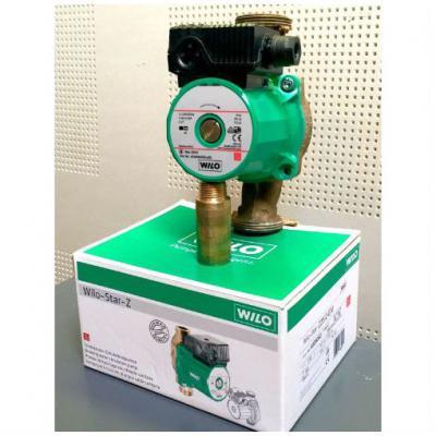 Насос циркуляционный Wilo Star-Z 20/1 EM с однофазным двигателем для водоснабжения