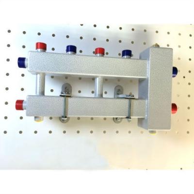 Гидрострелка с коллектором на 3 контура (2 вверх, 1 боковой) вход 1