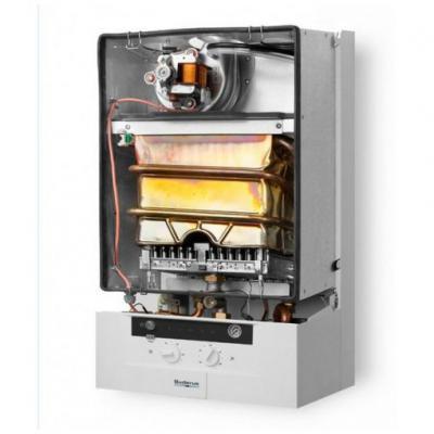 Котел настенный газовый Buderus Logamax U052-28K с закрытой камерой сгорания для отопления и ГВС