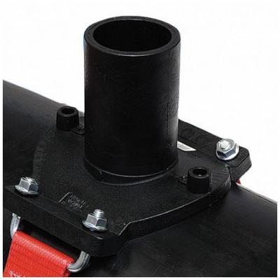 Седелочный отвод электросварной 710-800x200 пэ 100 sdr 11
