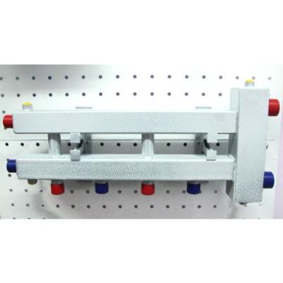 """Гидрострелка с коллектором на 3 контура (2 вниз, 1 боковой, вход 1 1/4""""), выход 1'', до 60 кВт"""