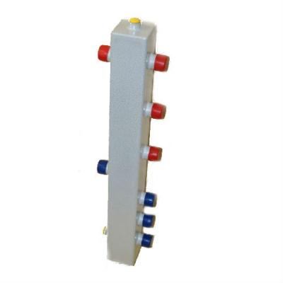 """Гидрострелка на 4 контура DN 20 (3/4""""), до 40 кВт"""