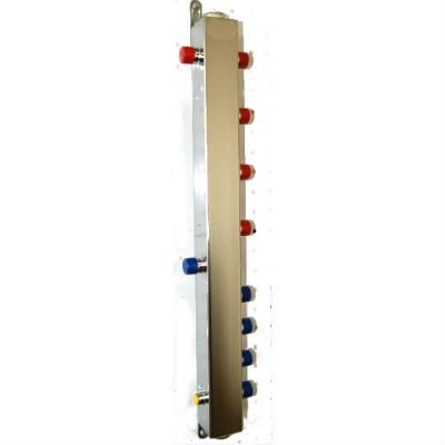 """Гидрострелка на 4 контура DN 25 (1""""), до 60 кВт из нержавеющей стали"""