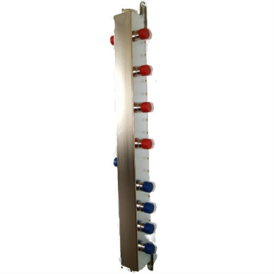 """Гидрострелка на 5 контуров DN 25 (1""""), до 60 кВт из нержавеющей стали"""