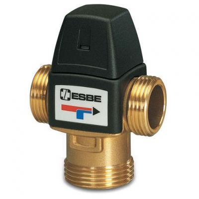"""Клапан термостатический смесительный трехходовой ESBE VTA 572, DN25, н.р 1"""" 20-43С, для теплого пола"""