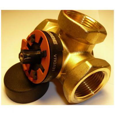 """Клапан трехходовой поворотный регулирующий ESBE VRG 131, DN32, вн.1 1/4"""", KVS 16, для теплого пола"""