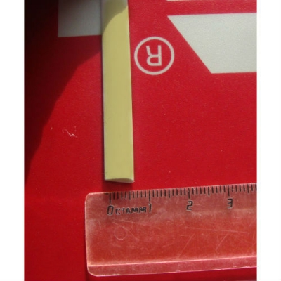 """Ротанг искусственный """"Полумесяц текстура гладкая, цвет кремовый-1, ширина 7 мм"""", бухта"""