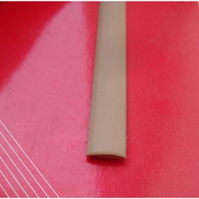 """Ротанг искусственный """"Полоса текстура гладкая, цвет бежевый, ширина 6-9 мм"""", бухта"""