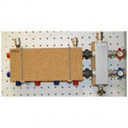 Модульный коллектор отопления Gidruss MK-60-3D (для гидрострелок GR-60-25, GR-100-32, 3 выхода G 1'')