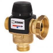 """Клапан термостатический смесительный трехходовой ESBE VTA 577, DN40, накидная гайка 1 1/2"""" 20-43С, для теплого пола"""