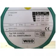 Насос циркуляционный Wilo TOP-S100/10 фланцевый с трёхфазным двигателем PN10