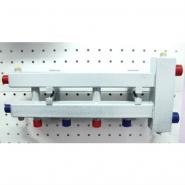 """Гидрострелка с коллектором на 3 контура (2 вниз, 1 боковой), вход 1 1/4, выходы 1"""", до 100 кВт"""