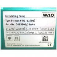Насос циркуляционный Wilo Stratos 80/1-6 с фланцевым соединением PN6