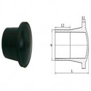 Заглушка литая удлиненная d 160 пэ 100 sdr 17